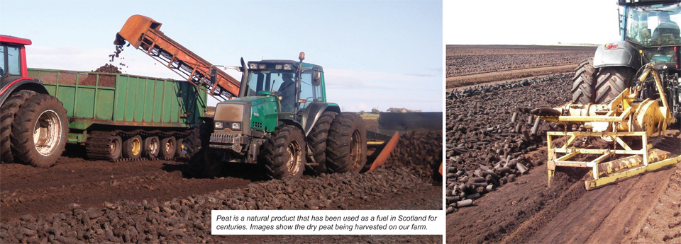 Peat Production